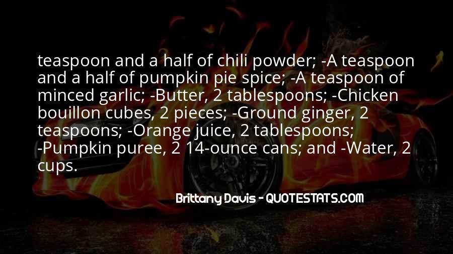 Quotes About Orange Juice #104989
