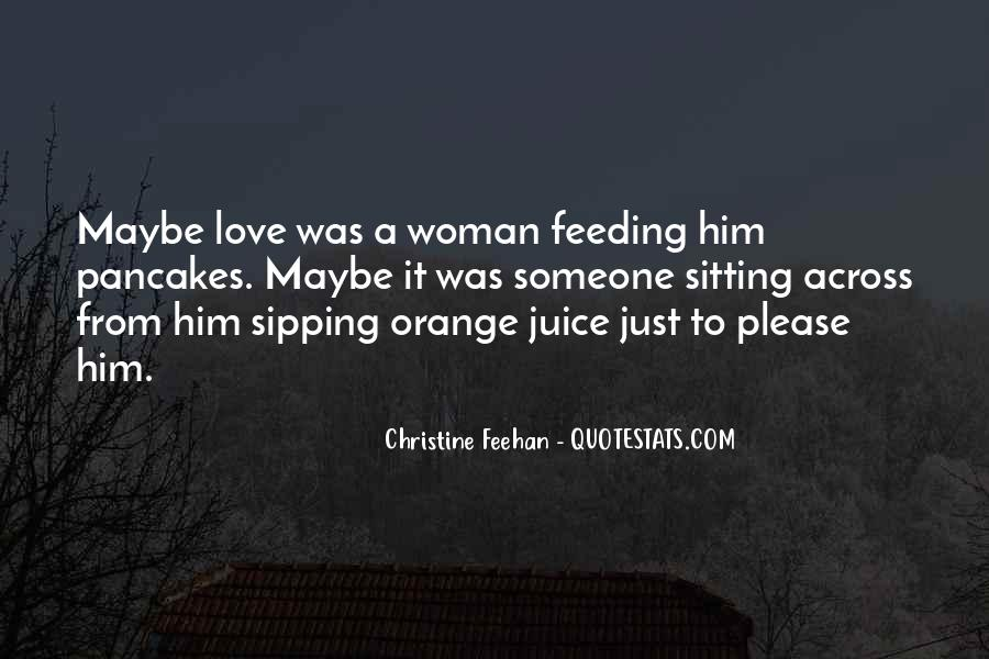 Quotes About Orange Juice #342829