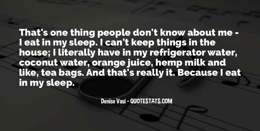 Quotes About Orange Juice #345941