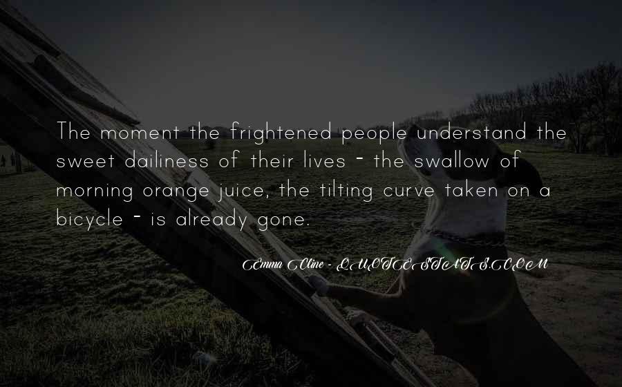 Quotes About Orange Juice #614575
