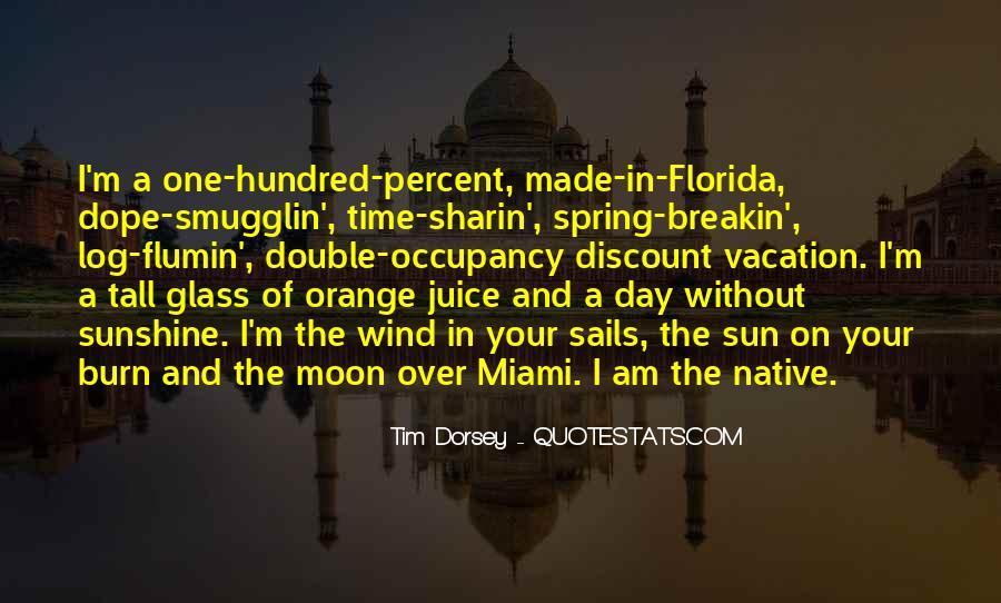 Quotes About Orange Juice #8496