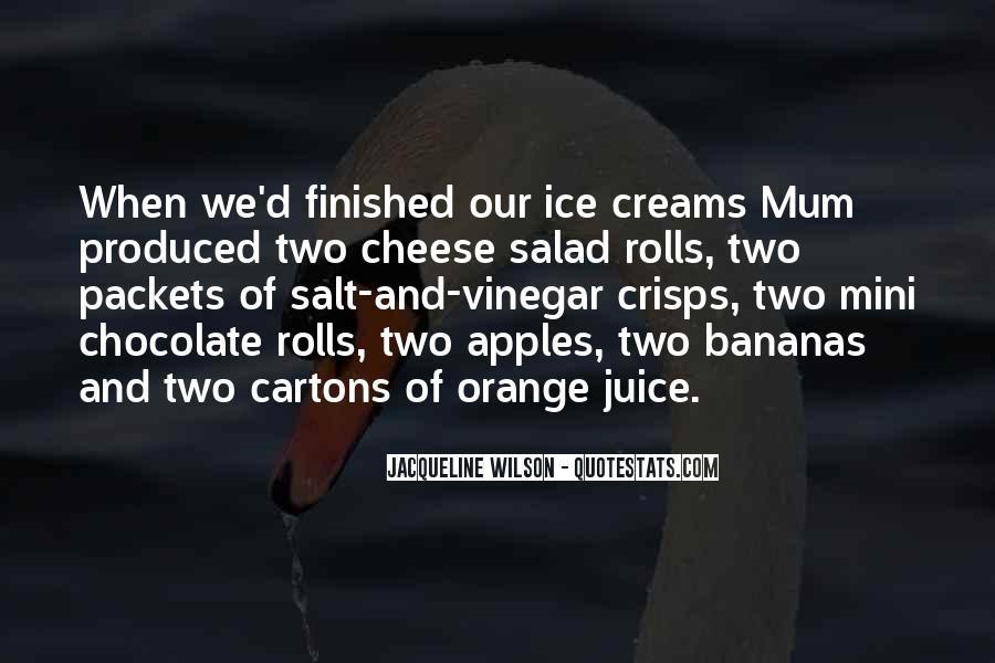 Quotes About Orange Juice #884009