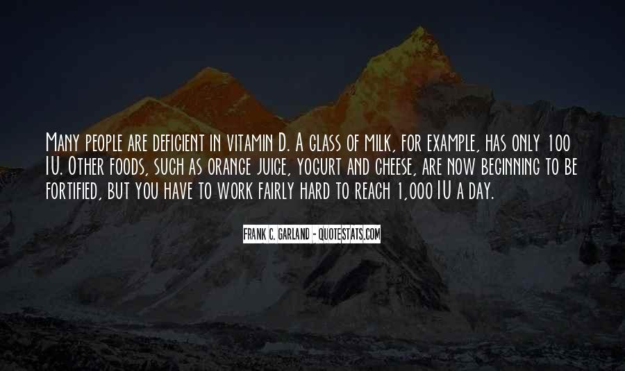 Quotes About Orange Juice #952835