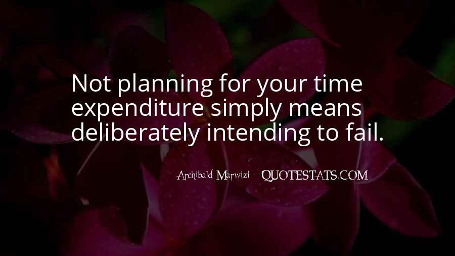 Quotes About Not Planning Your Life #1173147