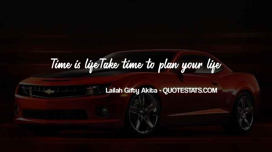 Quotes About Not Planning Your Life #124069