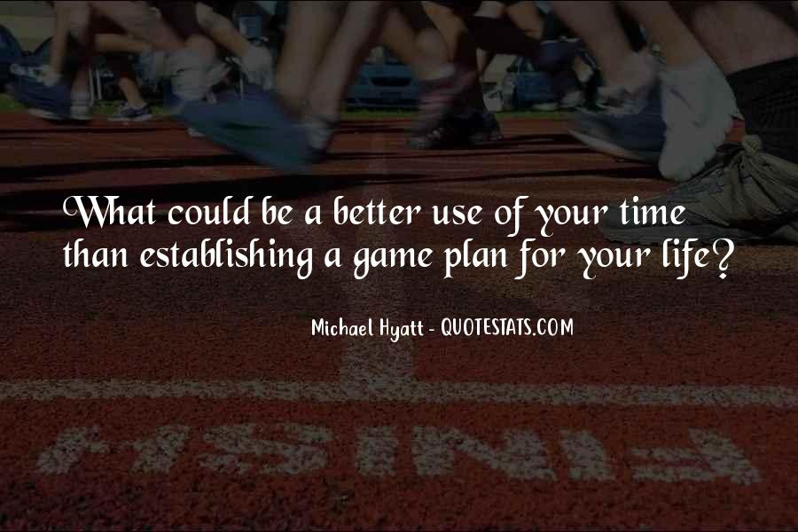 Quotes About Not Planning Your Life #138469