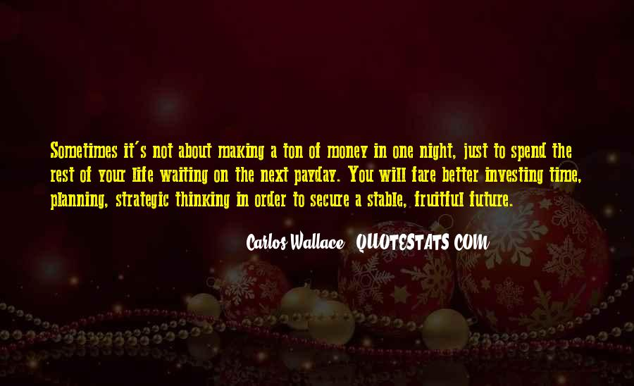 Quotes About Not Planning Your Life #23656