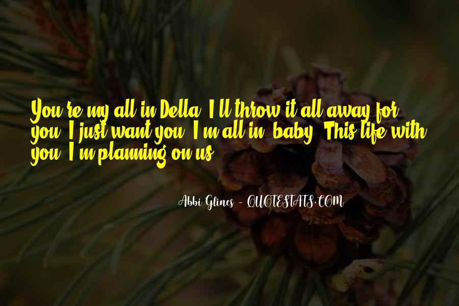 Quotes About Not Planning Your Life #259114