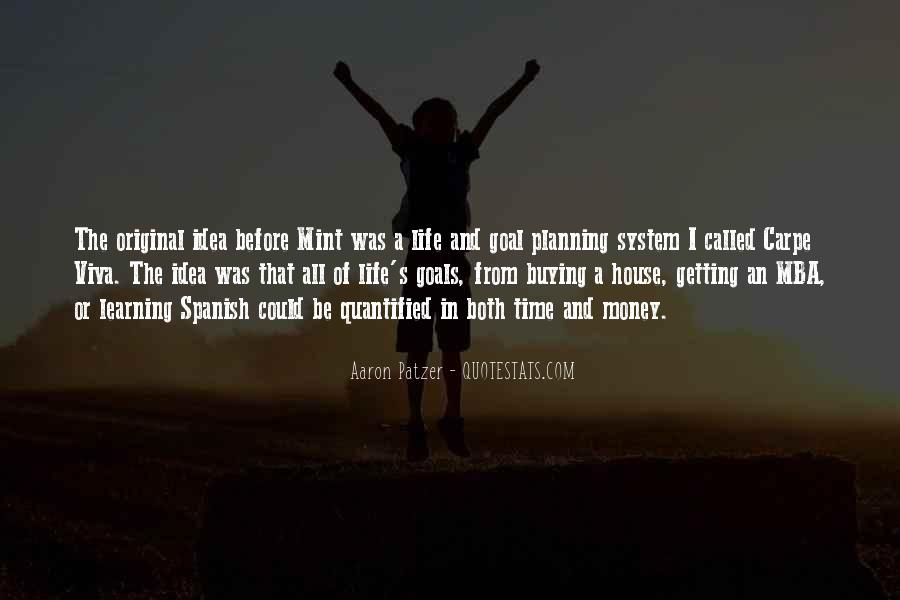 Quotes About Not Planning Your Life #63935
