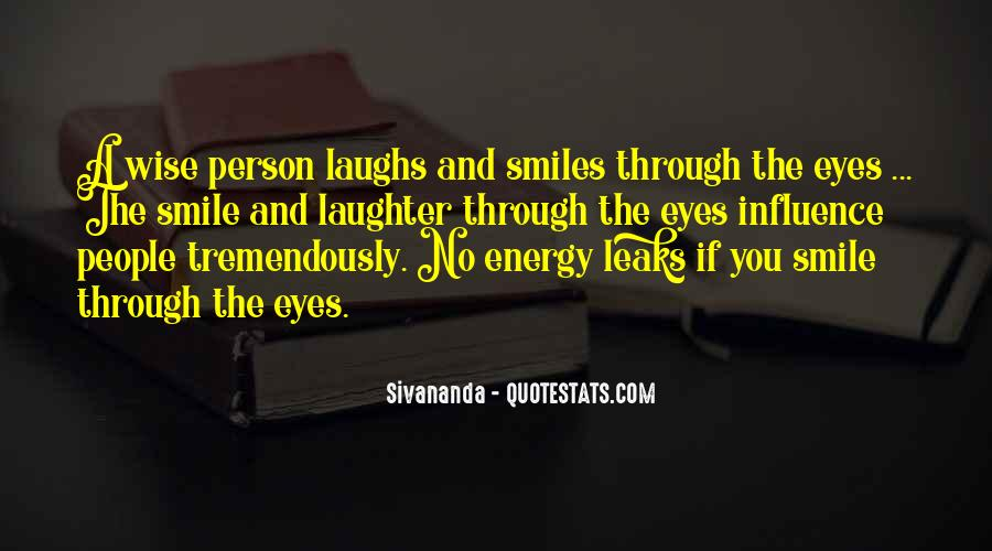 Quotes About Smiles And Laughter #116201