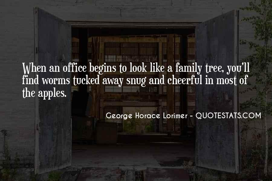 Quotes About Family Like A Tree #260689