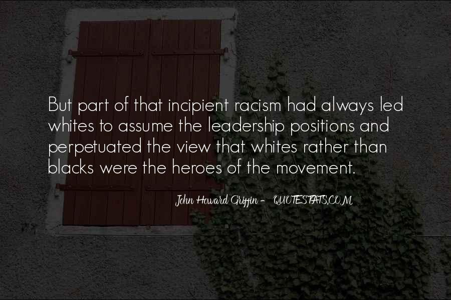 Quotes About Discrimination And Racism #1303083
