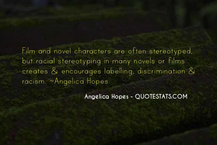 Quotes About Discrimination And Racism #30774