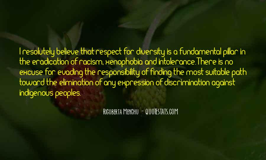 Quotes About Discrimination And Racism #492636