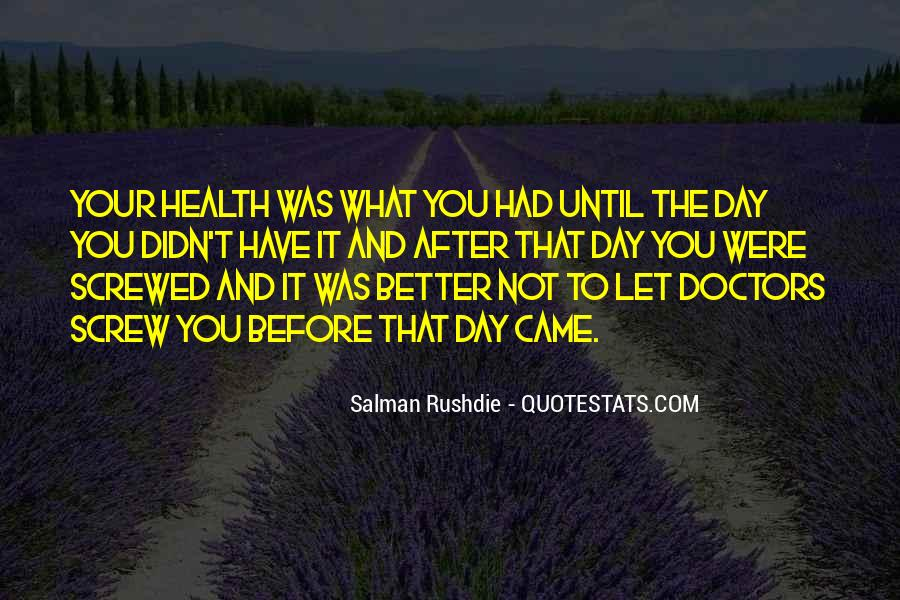 Quotes About Doctors Day #624663