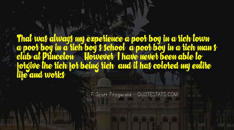 Quotes About Being A Boy To A Man #1158636
