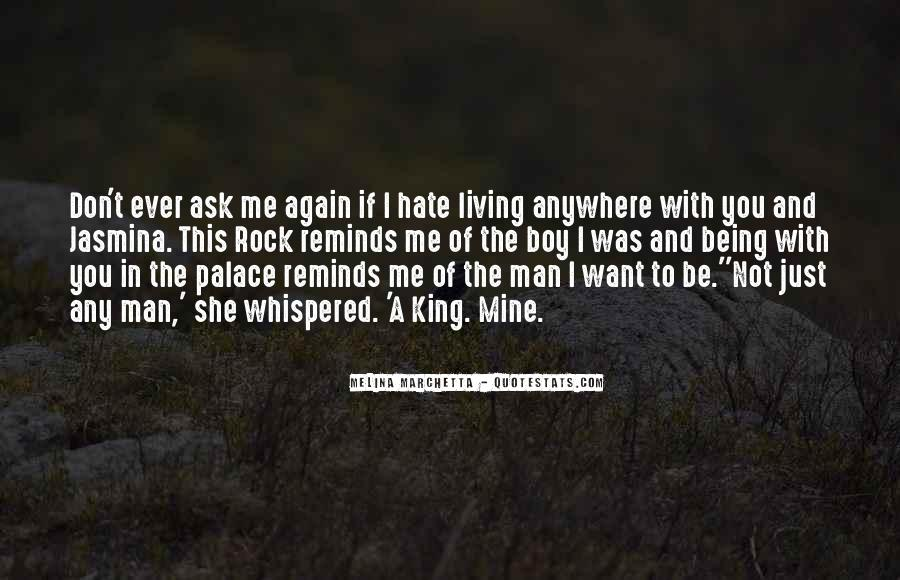 Quotes About Being A Boy To A Man #1439033