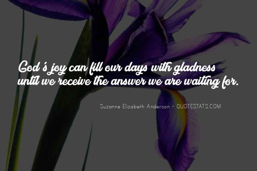 Quotes About Waiting For God's Answer #1301485