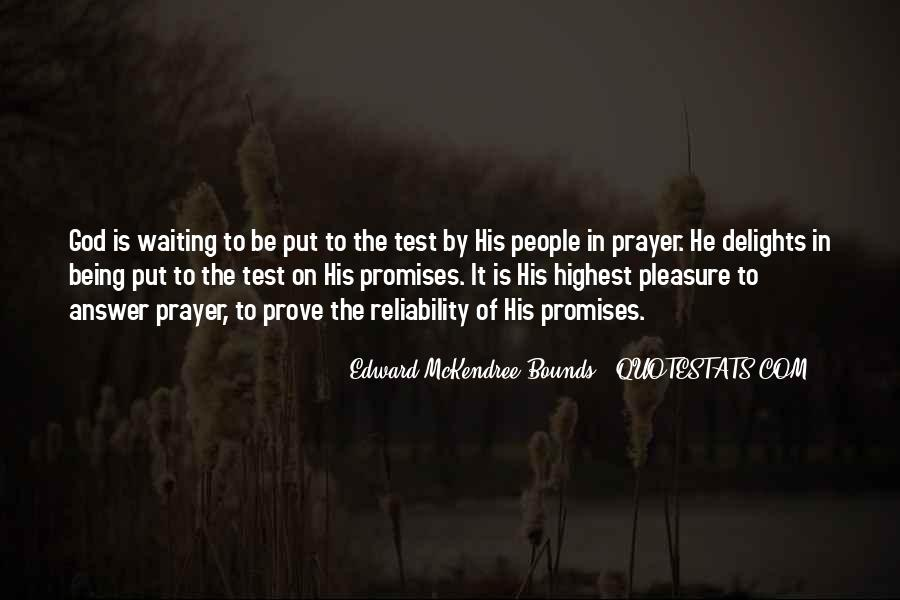 Quotes About Waiting For God's Answer #14347
