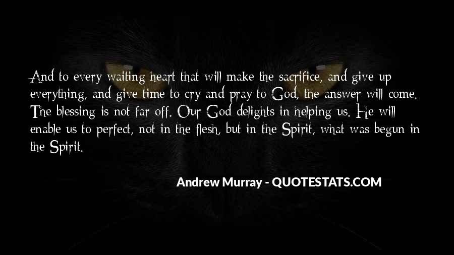 Quotes About Waiting For God's Answer #1662369