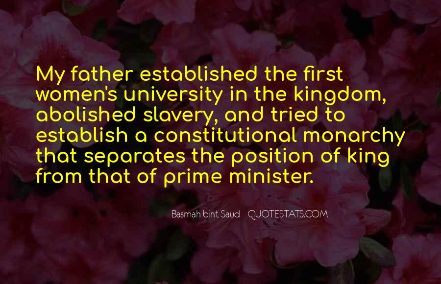 Quotes About Constitutional Monarchy #441181