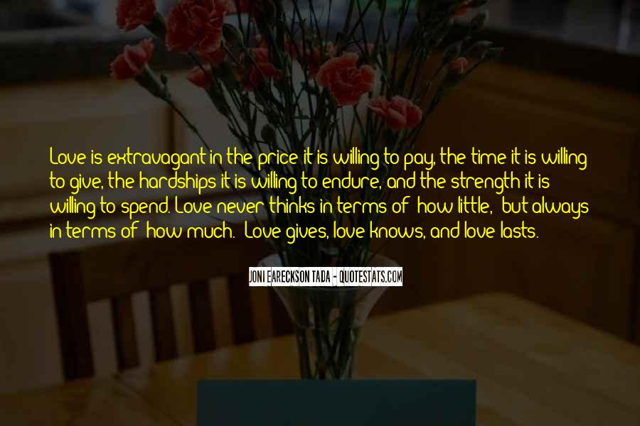 Quotes About Love And Its Hardships #1777031