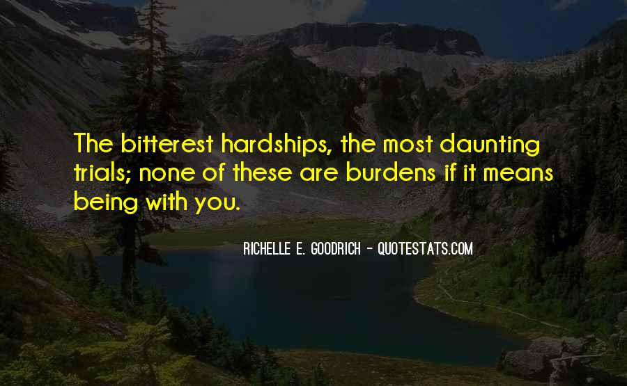 Quotes About Love And Its Hardships #814151