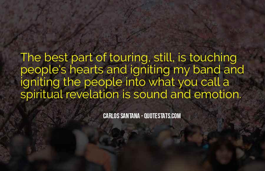 Quotes About Touching Hearts #924261