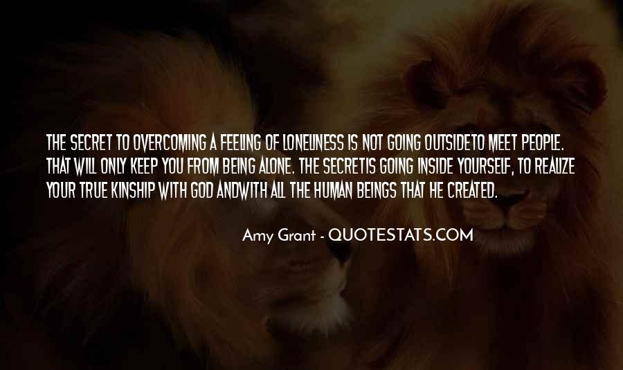 Quotes About Feeling Alone And God #1705691