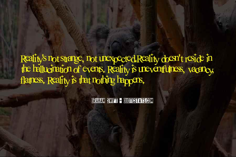 Quotes About Unexpected Events #1216358