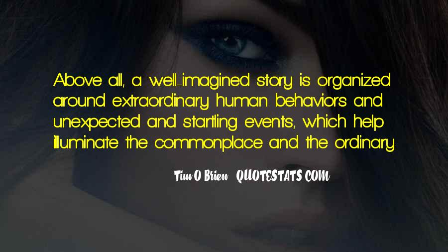 Quotes About Unexpected Events #1411498