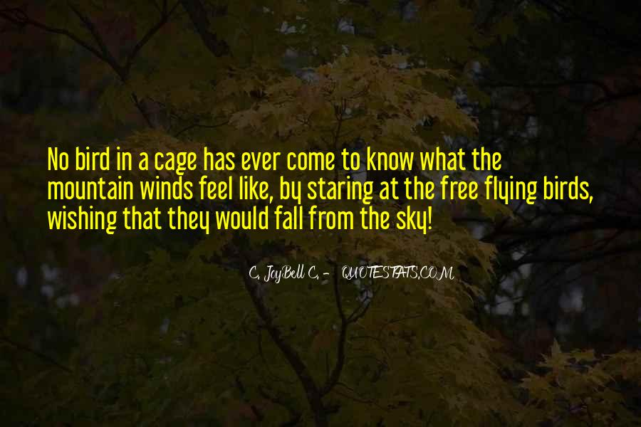 Quotes About Birds Flying Free #1451947