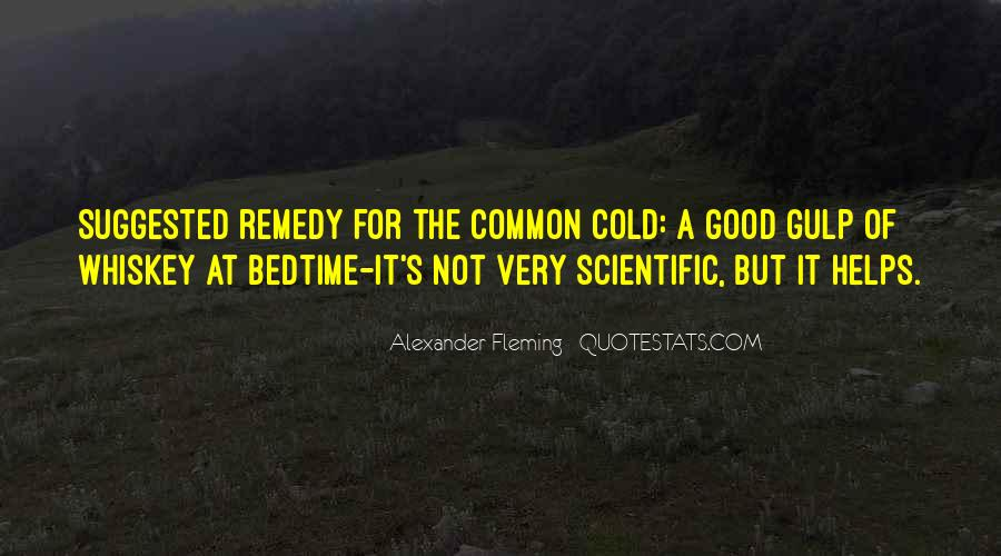 Quotes About Common Cold #570149