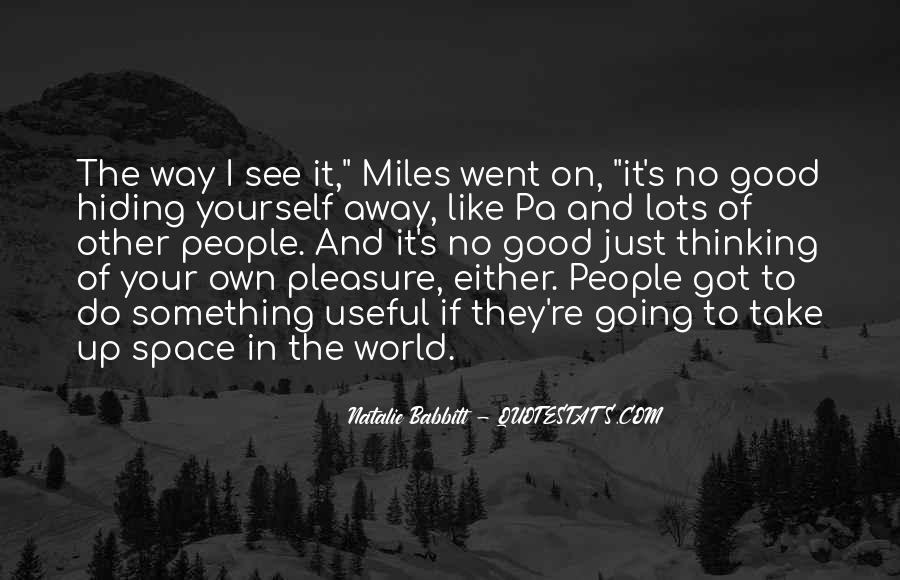 Quotes About Living Life On Your Own #667331