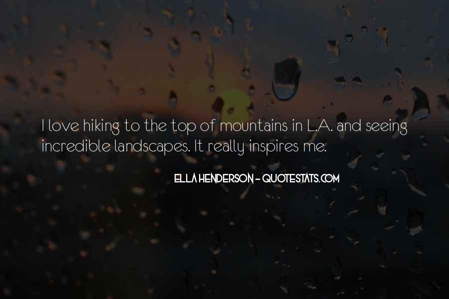 Quotes About Hiking Mountains #1012331