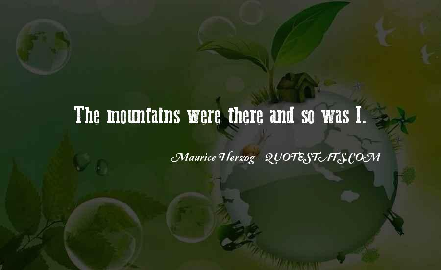 Quotes About Hiking Mountains #156329