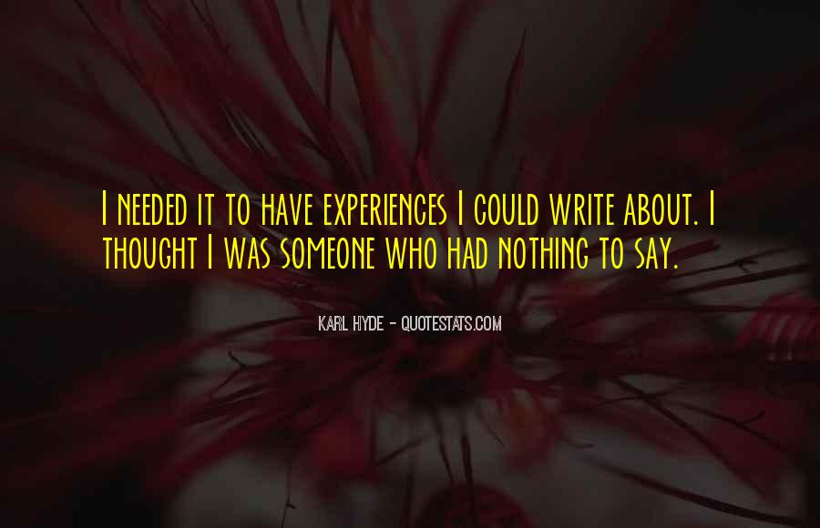 Quotes About Mr Hyde #214604