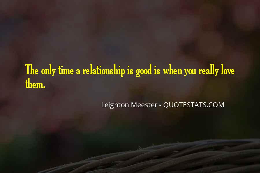 Quotes About Good Love #5127