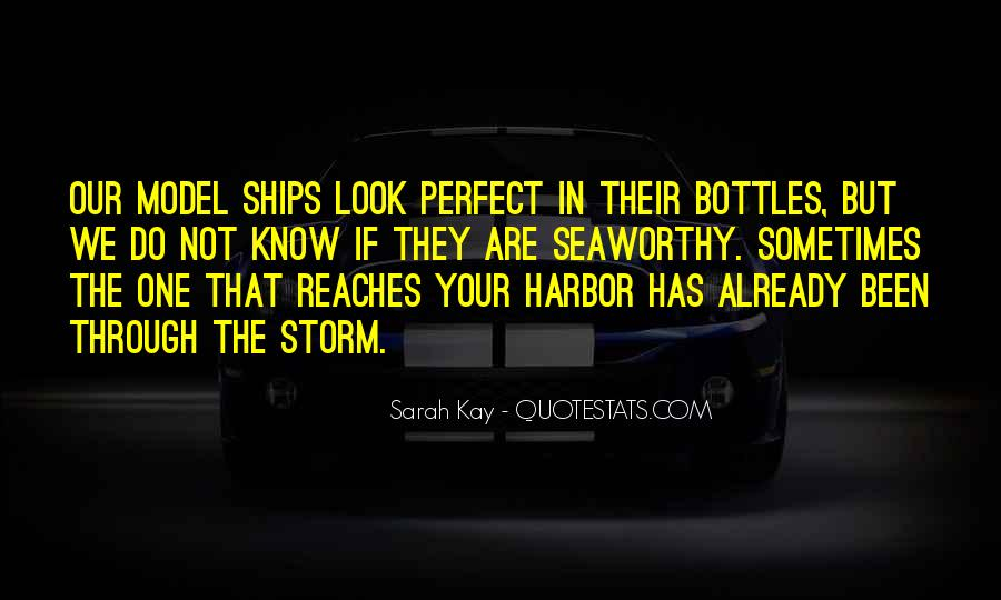 Quotes About Ships In Harbor #961431