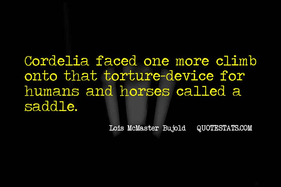 Quotes About Horses And Humans #1862323