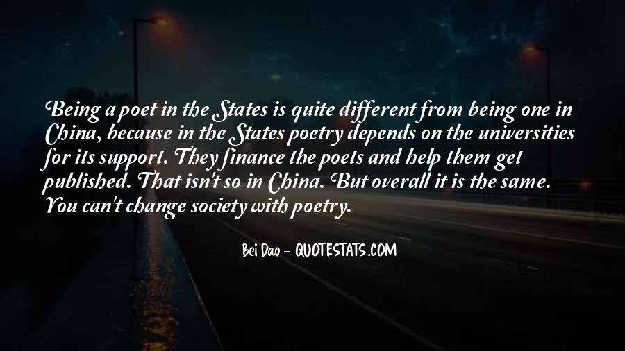 Quotes About Being Different From Society #102042