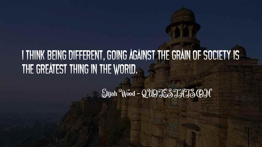 Quotes About Being Different From Society #1679162