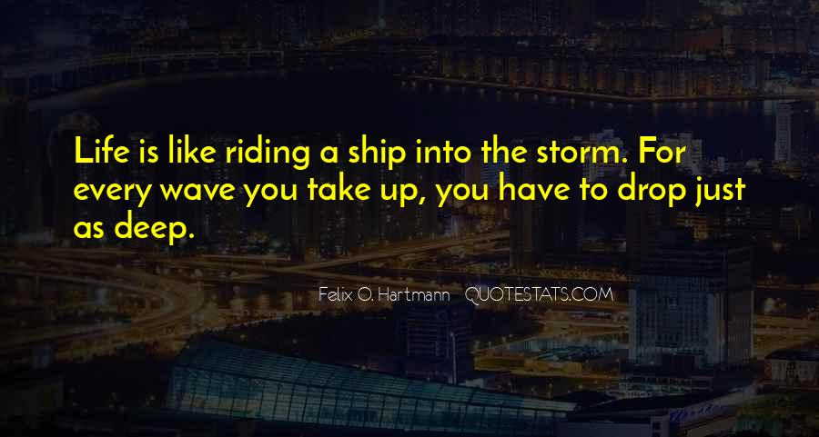 Quotes About Ship Life #555488