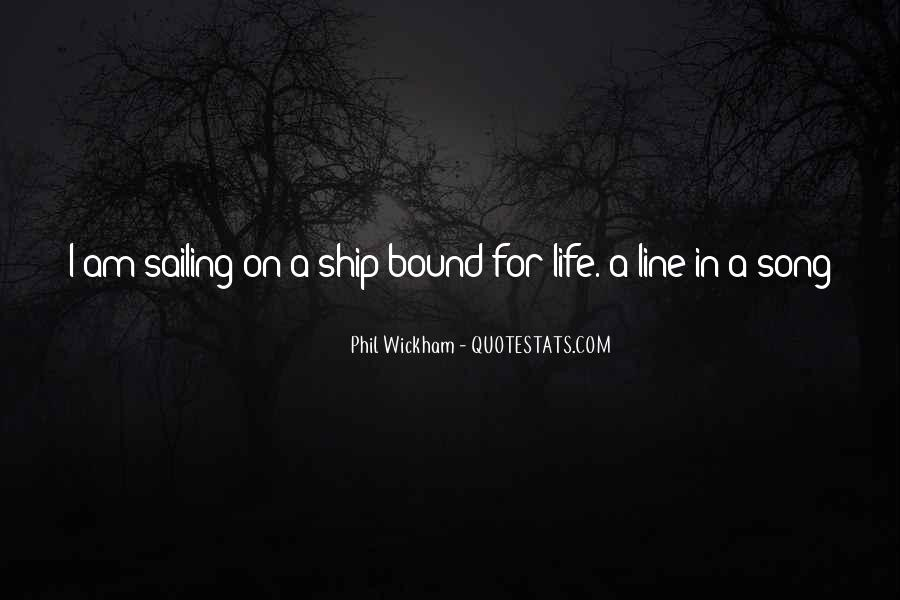 Quotes About Ship Life #72811