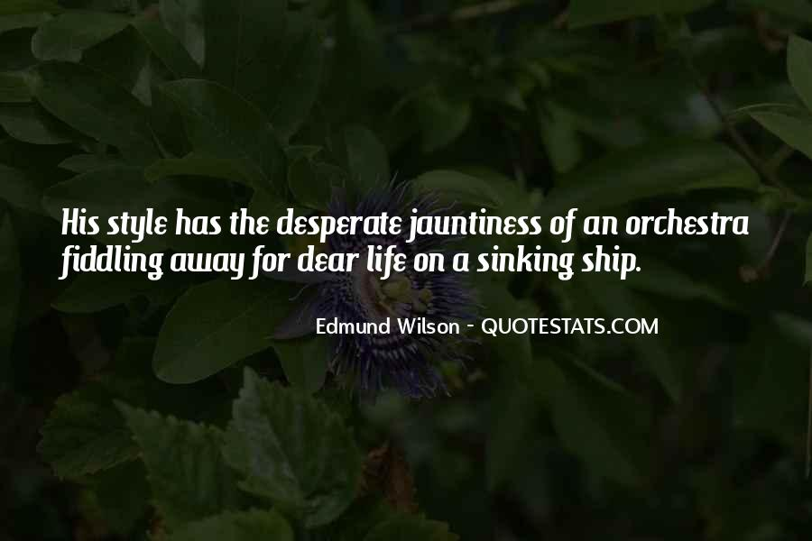 Quotes About Ship Life #893139
