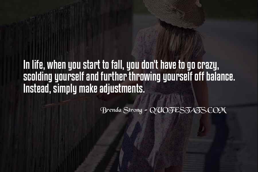 Quotes About Adjustments In Life #1530312