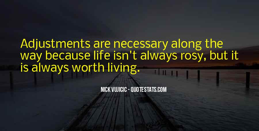 Quotes About Adjustments In Life #1714847