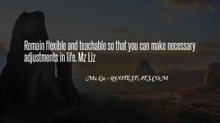 Quotes About Adjustments In Life #1766712