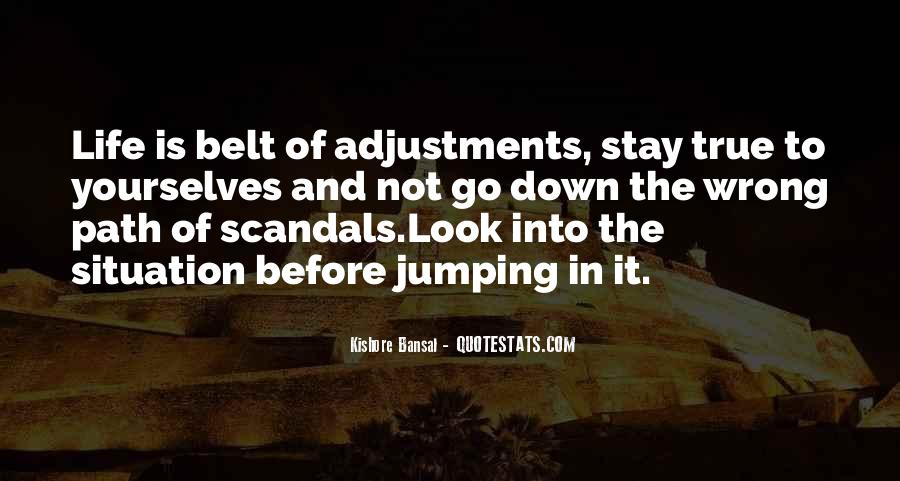 Quotes About Adjustments In Life #422510