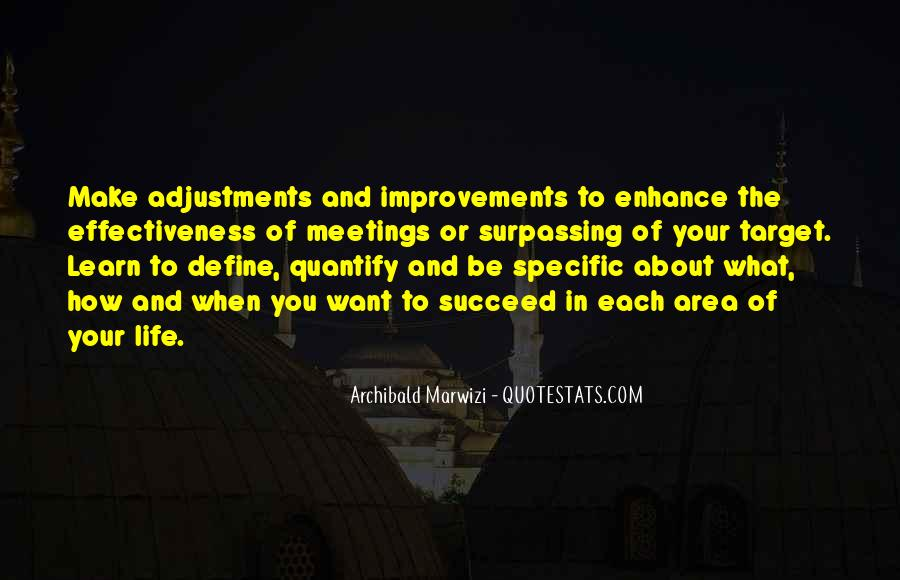 Quotes About Adjustments In Life #779251
